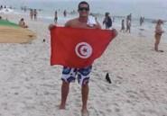 Tunisie: Oussama Mellouli des mondiaux de natation à Barcelone au Sit-in du Départ au Bardo