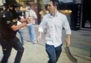 Le turc à la machette qui s'était attaqué aux manifestants du Taksim Square s'enfuit au Maroc