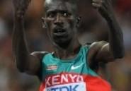 Athlétisme: Le Kényan Ezekiel Kemboi champion du monde du 3000m steeple
