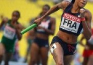 Mondiaux: Le relais 4×100 dames de France en finale
