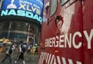 A Wall Street, suspension sans précédent des cotations sur le Nasdaq
