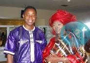 Le chanteur Alioune Kassé avec l'élégante Soda Mama Fall