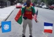 Diasporas : Ives Bambara marche 33 jours à travers les Etats-Unis pour la démocratie au Burkina Faso