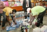 Des produits cosmétiques contrefaits saisis