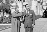 [Photo] Le Roi Mohammed V rencontrait Walt Disney