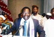Le président par intérim Dioncounda Traoré s'adressant