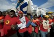 Afrique du Sud: 160.000 salariés en grève la semaine prochaine