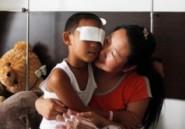 Un enfant chinois énucléé par sa tante opéré près de Hong Kong