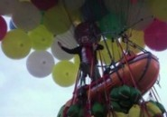 Echec de la traversée de l'Atlantique en ballon