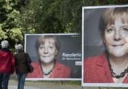 """Pour sa troisième campagne, Merkel joue la """"carte femme"""""""