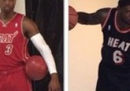 NBA: En images, les nouveaux maillots du Heat de Miami