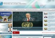 Voici le nouveau site du Ministère des Affaires Etrangères