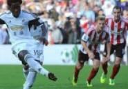 Wilfried Bony: l'Ivoirien participe au festival de Swansea face