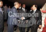 Paul Biya rentre du Vatican