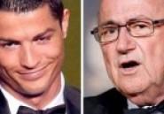 Sepp Blatter crée un gros clash avec Ronaldo, puis s'excuse publiquement