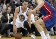 NBA : Golden state assomme Detroit -vidéo-