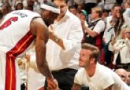 LeBron James associé de David Beckham pour la création d'une équipe de foot