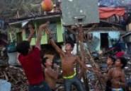 Philippines: Quand le basket se pratique sur les décombres du typhon Hayian