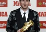 Soulier d'or: La veste de Messi objet de risée sur Twitter