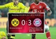 Allemagne: le Bayern humilie Dortmund