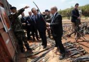 """Hollande en Centrafrique: """"éviter toute tentation de partition"""""""