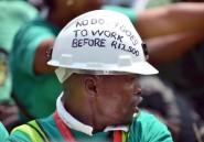 Afrique du Sud: ultimatum du numéro 3 du platine