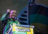 Elections en Afrique du Sud: Zuma dédie la victoire de l'ANC