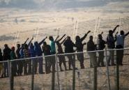 Des centaines d'immigrants subsahariens tentent de franchir la frontière