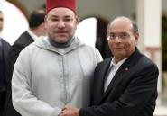 Le roi du Maroc Mohamed VI en visite officielle
