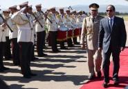 Le président égyptien Sissi rencontre Abdelaziz Bouteflika