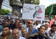 Près de 2.000 Tunisiens manifestent contre l'offensive israélienne