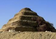Egypte: la pyramide de Djoser n'a pas été endommagée selon le gouvernement