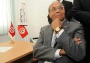 Tunisie: le président Marzouki candidat
