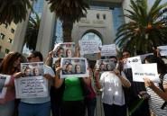 Manifestation pour 2 journalistes tunisiens portés disparus en Libye