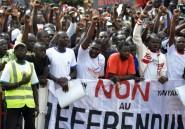 Burkina: manifestations après l'annonce d'un référendum rouvrant la voie