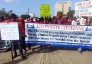 Bénin: manifestation