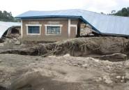 Dans l'est de la RDC, le village de Bushushu défiguré par les pluies diluviennes
