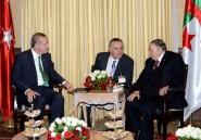 Le président turc Erdogan en visite