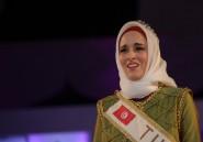 """Une Tunisienne remporte le concours """"Miss monde Muslimah"""" en Indonésie"""