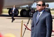 Egypte: le président Sissi s'envole pour Rome avant Paris