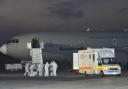 Ebola: arrivée