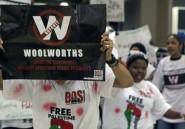 Boycott de l'origine Israël en Afrique du Sud: manifestations interdites chez Woolworths