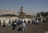Un cinquième colosse d'Amenhotep III dévoilé en Egypte