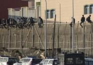 Espagne: plus de 100 migrants franchissent la frontière grillagée