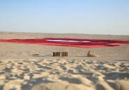 """En Tunisie, le """"plus grand drapeau au monde"""" ne fait pas l'unanimité"""