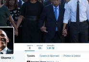 """""""Bonjour Twitter ! C'est Barack"""": Obama s'offre plus d'un million d'abonnés!"""