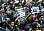 Tunisie: manifestation pour 2 journalistes que l'EI affirme avoir exécutés
