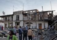 """Le feu ravage un vieil hôtel d'Addis Abeba rendu célèbre par le roman """"Scoop"""""""
