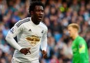 Transfert: l'Ivoirien Wilfried Bony quitte Swansea pour Manchester City