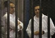 Egypte: les deux fils Moubarak remis en liberté
